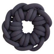 Almofada Knot Pillow Tricô Creative - Azul