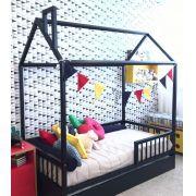 Cama Montessoriana com cama AUXILIAR