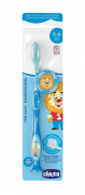 Escova De Dentes (3-6 Anos) Azul - Chicco