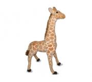 Girafa de pelúcia decorativa 90 cm de altura