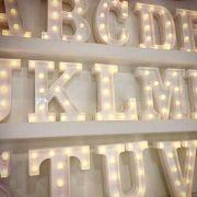 Letras com Luz de led