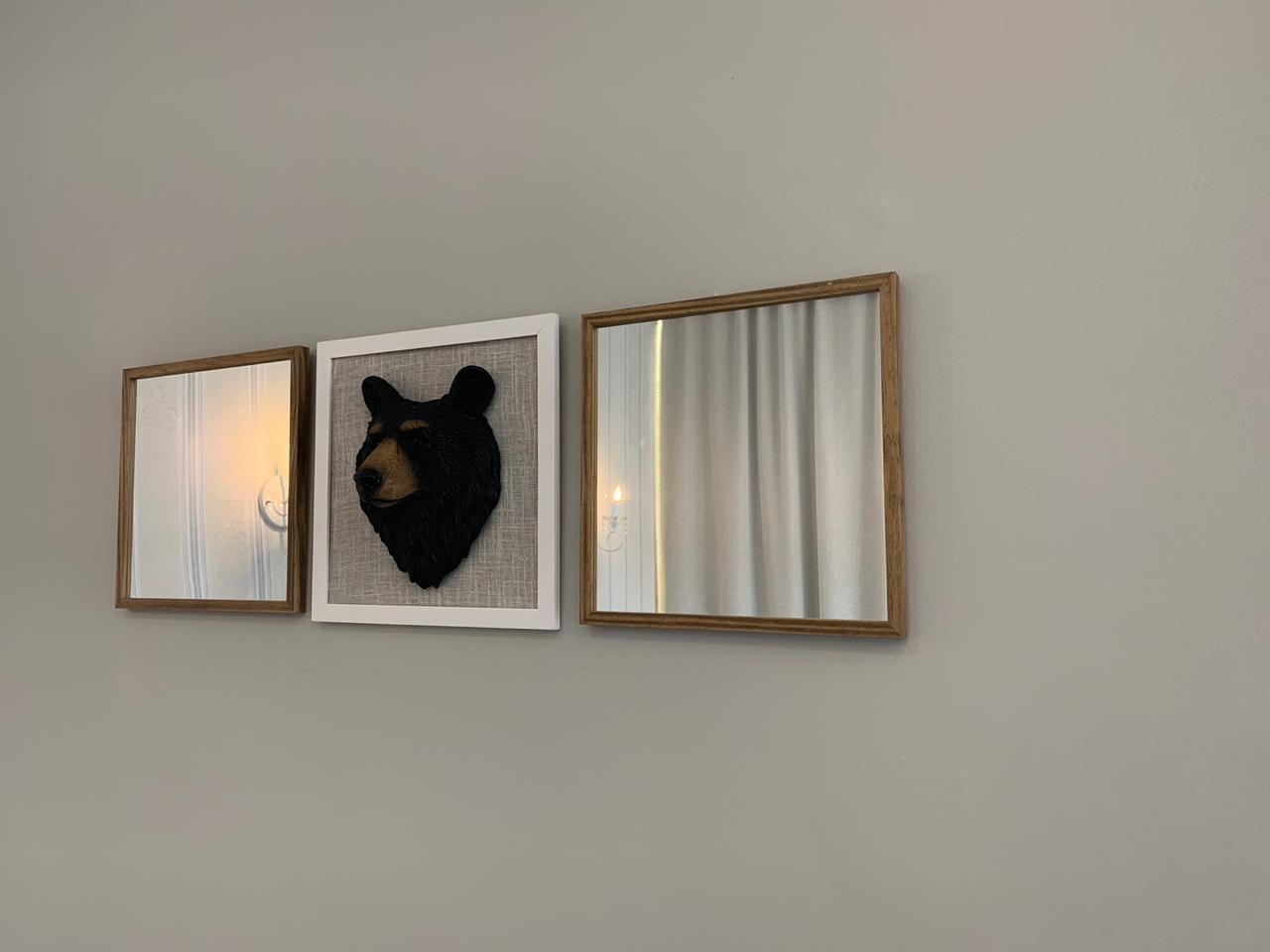 3 quadros decorativos