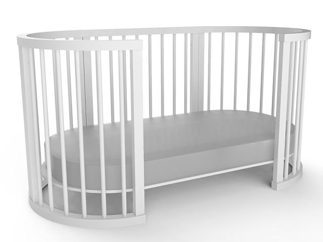Berço Transformável Crescer - Sleeper
