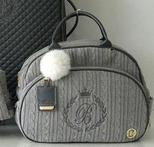 Bolsa G Tricô com trocador