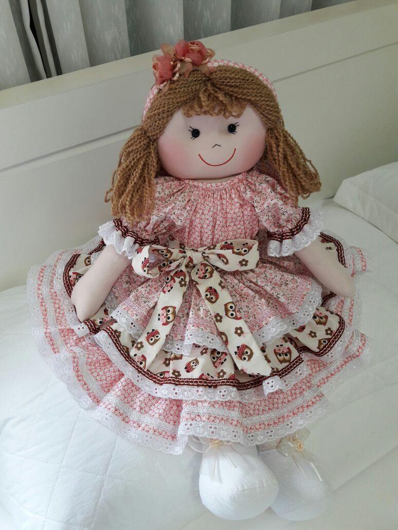 Boneca Personalizada Pano