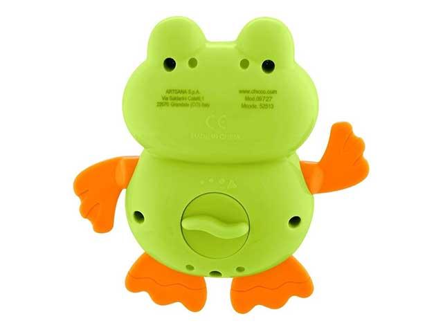 Brinquedo Infantil Sapinho Nadador