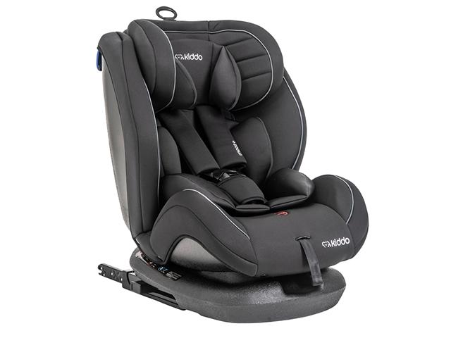 Cadeira Auto Kiddo Mooz Preto - 0 a 36kg