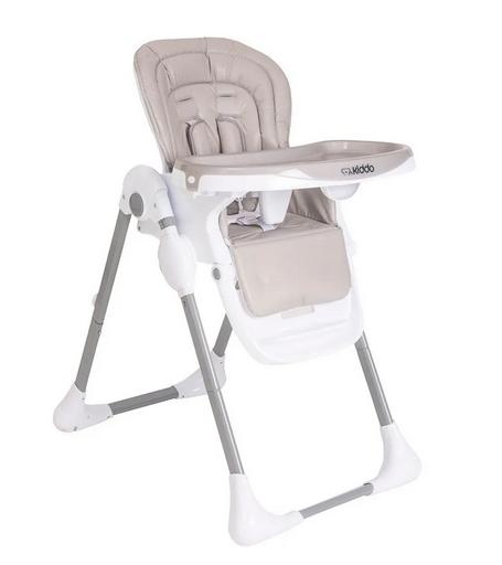 Cadeira De Alimentação Para Bebê Reclinável Smile Kiddo Bege