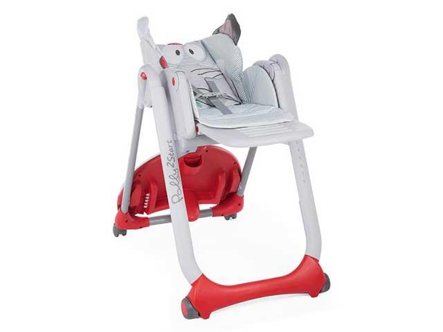 Cadeira De Alimentação Polly 2 Start - Baby Elephant - 0 A 15kg - Chicco