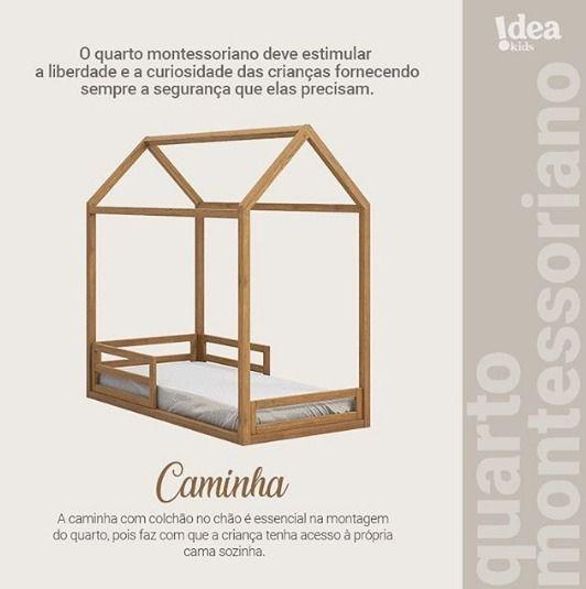 Cama Montessoriana Junior