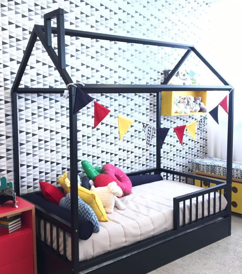 Cama Montessoriana com cama AUXILIAR ou 2 Gavetoes