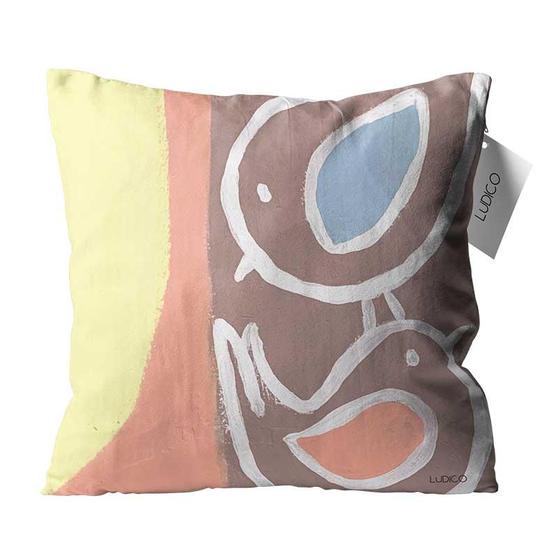 Capa de Almofada Lúdico - Coleção Bichos