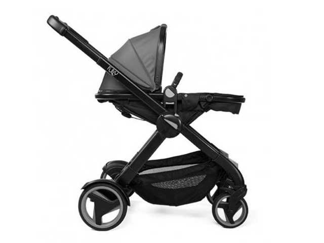 Carrinho de Bebê Fully Twin Black - Chicco