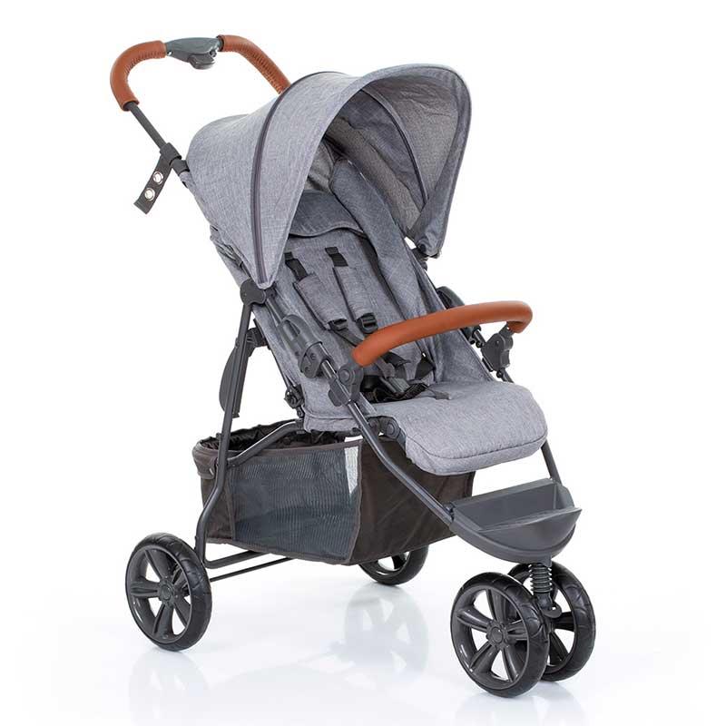 Carrinho de Bebê Moving Light Grey