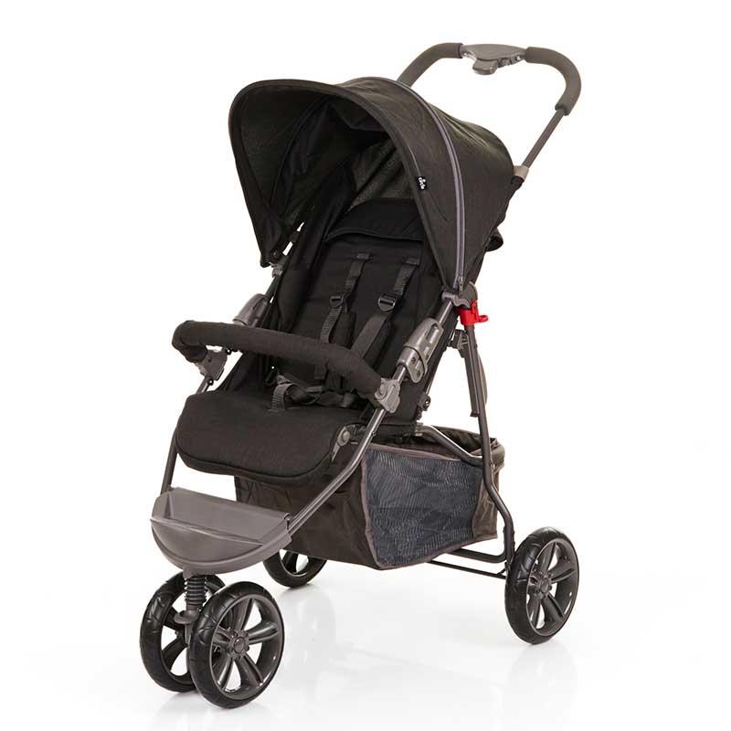 Carrinho de Bebê Moving Light Preto