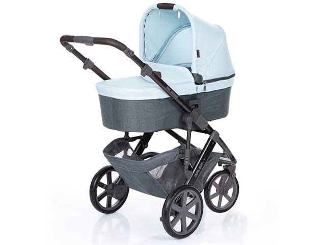 Carrinho de Bebê Salsa 3 ABC Design Ice (Azul) + Moisés