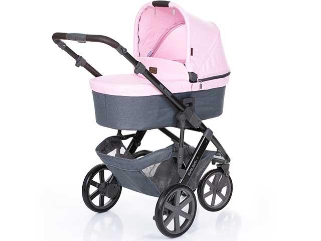 Carrinho de Bebê Salsa 3 ABC Design Rose + Moisés