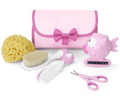 Conjunto de Higiene, Menina, Chicco, Rosa
