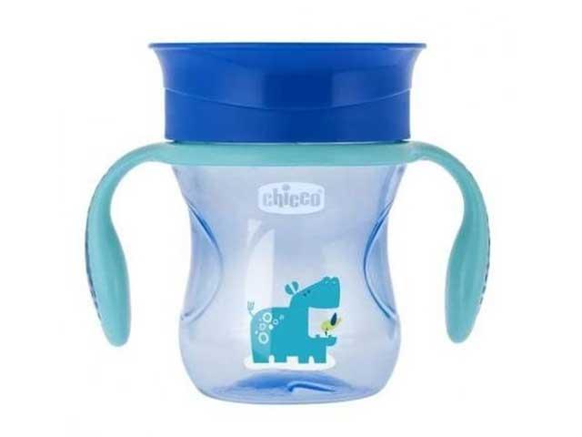 Copo de Treinamento 12m+ - 360 Perfect Cup - 200 Ml - Azul - Chicco