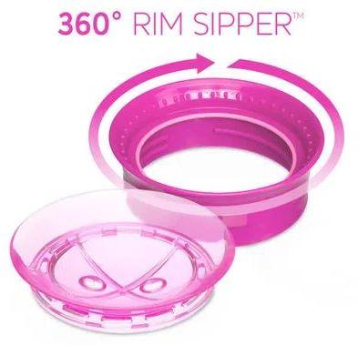 Copo de Treinamento - 360 Perfect Cup - 200 Ml - Rosa - Chicco