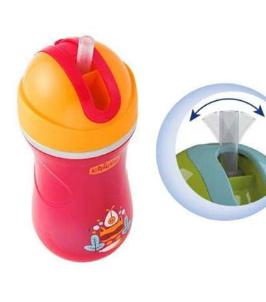 Copo Térmico Chicco Sport Cup Vermelho 14m+