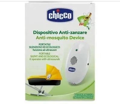 Dispositivo Anti-Mosquito Device Anti-zanzare Portátil - Chicco Branco