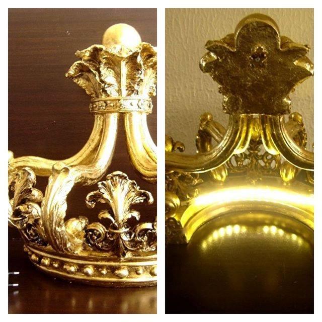 Dossel Coroa com Luz de Led