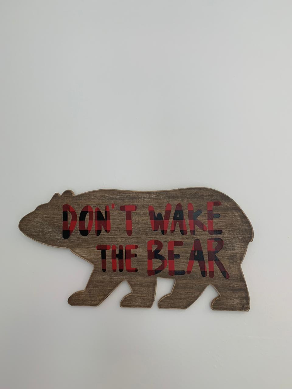 Flecha + Urso (Decoração parede)