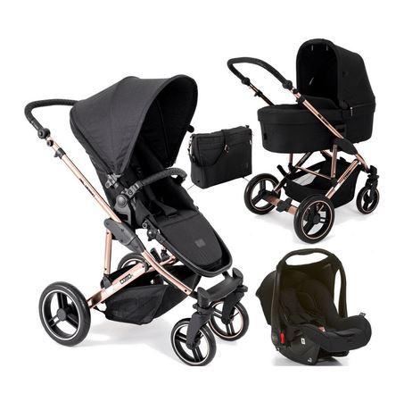 Carrinho de Bebê Travel System  Como 4 + Moisés Rose Gold - ABC Design
