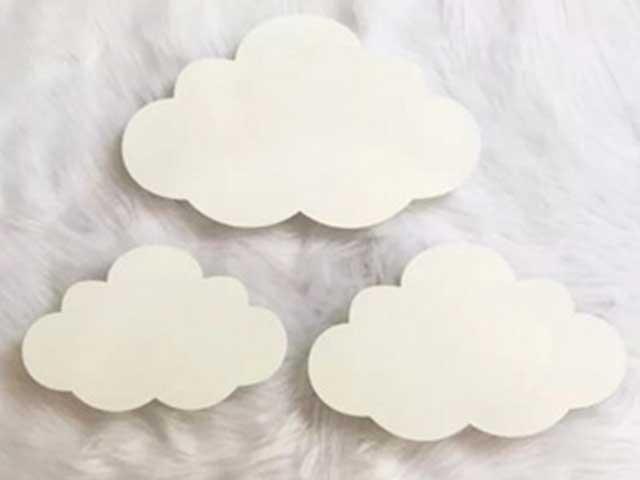 Luminária Trio de Nuvens