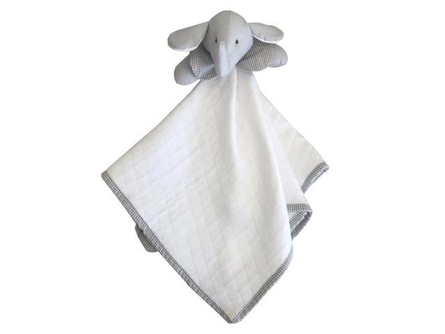Naninha Malha para Bebê - Elefante
