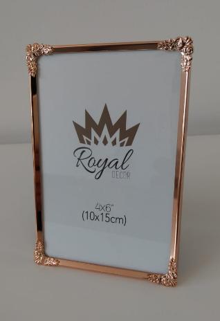 Porta retrato rose gold (10x15cm)