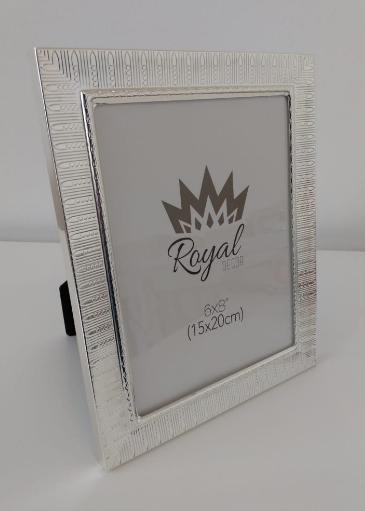 Porta retrato prateado (15x20cm)