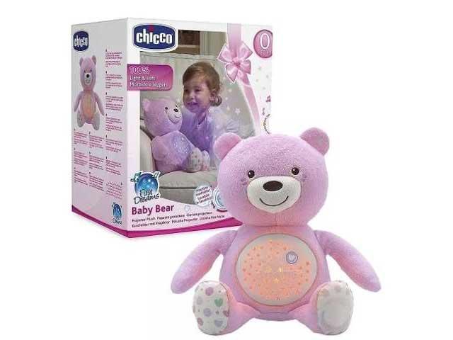 Projetor - Bebê Urso - ROSA