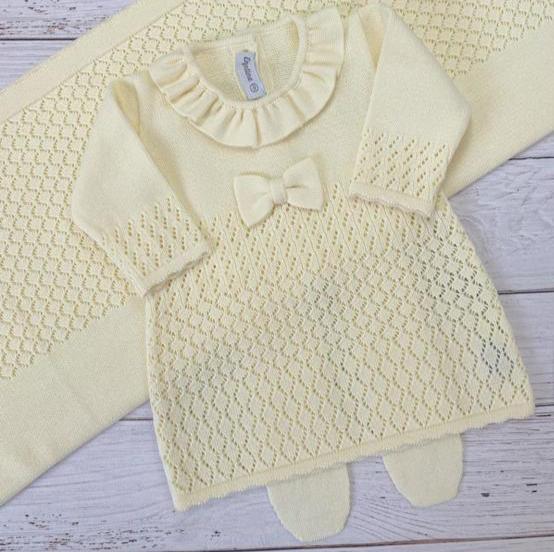 Saída de maternidade VERIVE - Amarelo