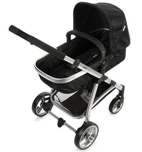 Travel System Epic Lite Duo Onyx Com Carrinho de Bebê + Bebê Conforto - Infanti