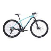 Bicicleta Agile Sport 29 Carbono DEORE 2019 - cor azul e grafite
