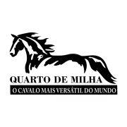 Adesivo Cavalo Quarto de Milha