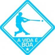Adesivo Coleção Vinil Studio - A Vida É Boa! Beisebol