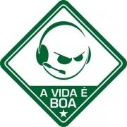 Adesivo Coleção Vinil Studio - A Vida É Boa! FPS
