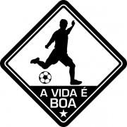 Adesivo Coleção Vinil Studio. A vida é Boa! Futebol