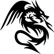 Adesivo Dragão