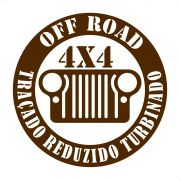 Adesivo Jipeiro Off Road 4x4