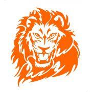 Adesivo Leão Tribal