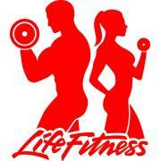 Adesivo Life Fitness Casal