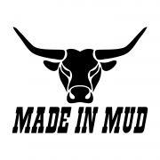 Adesivo Made In MUD - Alta qualidade