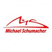 Adesivo Michael Schumacher - Várias cores - Qualidade TOP