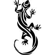 Adesivo Salamandra Tribal - 1 metro - Várias cores