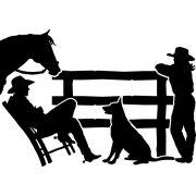 Adesivo Vida de Cowboy