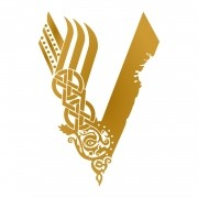 Adesivo Vikings - Logo V da Serie